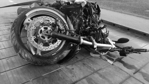 Nie żyje 38-letni motocyklista z Tarnowa Opolskiego.