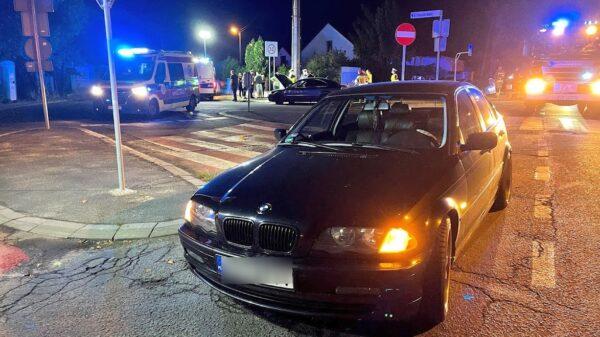 Wypadek na ul. Prószkowskiej w Opolu. Kobieta w ciąży została zabrana do szpitala.(Zdjęcia)