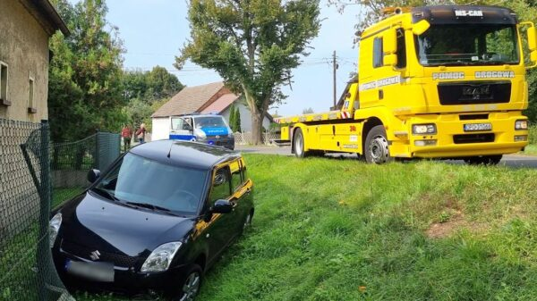 Zderzenie dwóch aut suzuki w Kotorzu Małym koło Opola.(Zdjęcia)