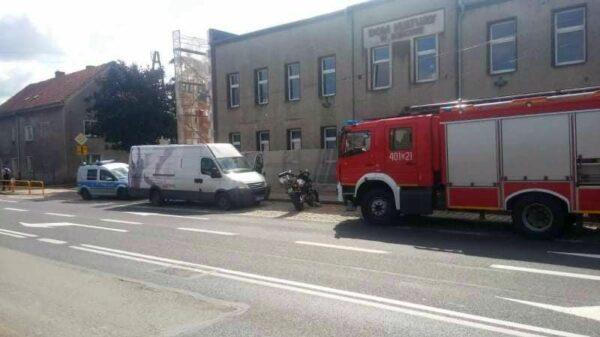 Zderzenie motocyklisty z busem na dk94 w Łosiowie koło Brzegu.(Zdjęcia)