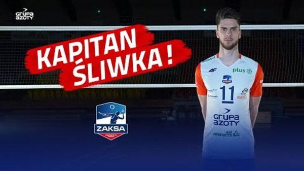 Aleksander Śliwka nowym kapitanem Grupy Azoty ZAKSA Kędzierzyn-Koźle.
