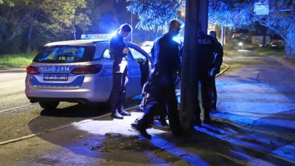 42-latek poszukiwany przez ograny ścigania zaatakował policjantkę. Miał 2 promile.(Wideo)