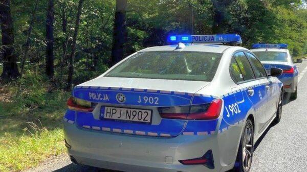 Policjanci w czasie kontroli drogowej ujawnili amfetaminę i marihuanę u pasażerów.