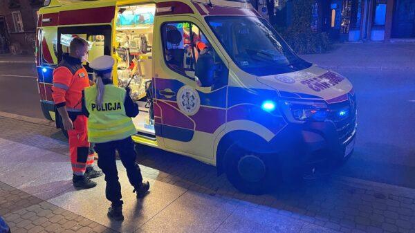 47-latek jadący hulajnogą miał zostać potrącony przez auto w Opolu. Mężczyzna miał prawie 2 promile.(Zdjęcia)
