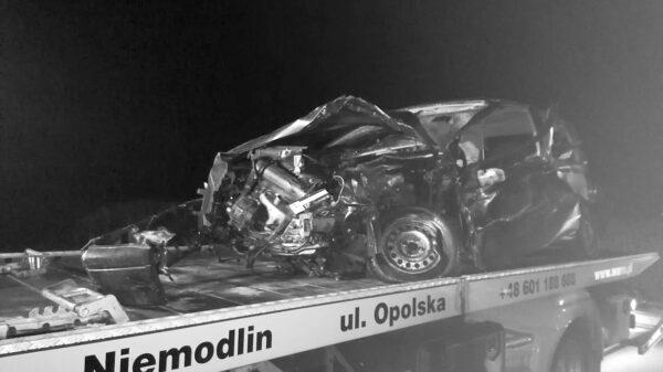 Wypadek śmiertelny na obwodnicy Prudnika. Nie żyje wybitny kolarz i trener