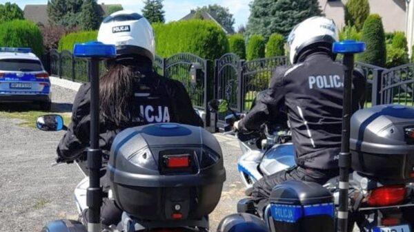 """9 października 2021 r. policjanci ruchu drogowego przeprowadzą wzmożone działania pn. """"Opolski bezpieczny motocyklista""""."""
