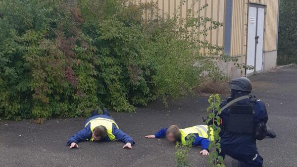 SZKOLENIE POLICJANTÓW ODDZIAŁU PREWENCJI W OPOLU.
