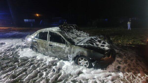 Czy to było podpalenie auta w Tarnowcu?