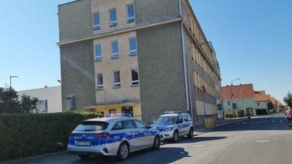 Uczeń uderzył nauczycielkę w szkole. Interweniowała policja.
